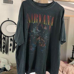 Vintage nirvana shirt
